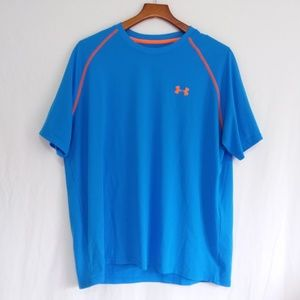 Under Armour Blue Loose Fit Sport Tee XL